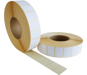 Zebra Z-Perform 1000D (3006307-T) compatibles, Eco, 57mm x 32mm, 4470 etiquetas, 76mm núcleo, blanco, permanente