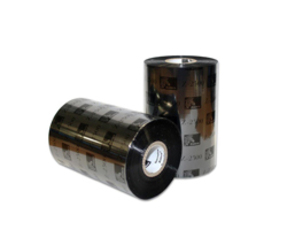 Thermal Ribbon, 2300, Wax, 65mm x 450m, Black (12 per box)