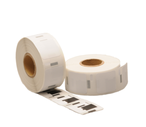 Dymo 1933083 Compatible Labels, 25mm x 25mm, 850 Labels, White, Permanent (Polypropylene)