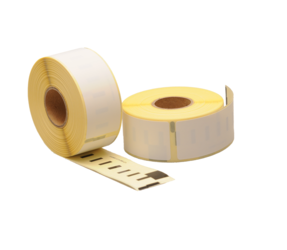 Dymo 1976200 Compatible Labels, 25mm x 89mm, 100 Labels, White, Permanent (Polypropylene)