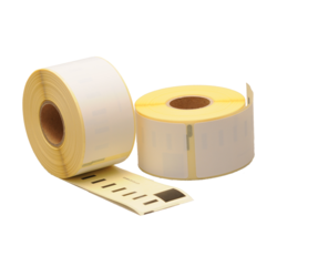 Dymo 1976411 Compatible Labels, 54mm x 25mm, 160 Labels, White, Permanent (Polypropylene)