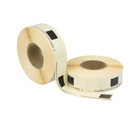 Brother DK-11204 compatible labels, 17mm x 54mm, 400 labels, white, permanent