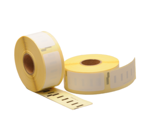 Durable Dymo 11352 Compatible Labels, 54mm x 25mm, 500 Labels, White, Permanent, Polypropylene