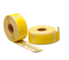 Dymo 11352 Compatible Labels, 54mm x 25mm, 500 Labels, Yellow, Permanent