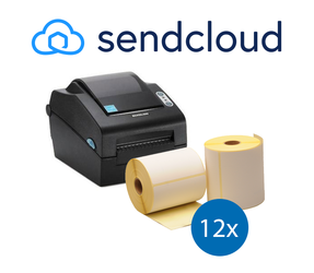 SendCloud Starter Package | Bixolon SLP-DX420G Printer + 12 Label Rolls in 102mm x 150mm