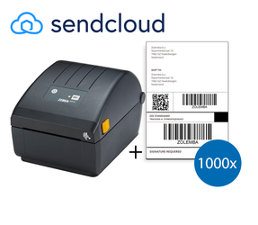 SendCloud Starter Package | Zebra ZD220D Printer + 1,000 Shipping Labels