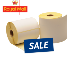 Zebra compatible Royal Mail shipping labels, 102mm x 152mm (4