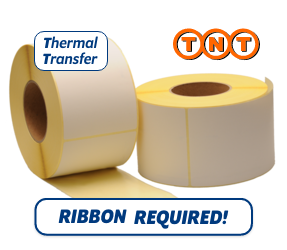 TTR Zebra TNT (87985) compatible shipping label, 102mm x 152mm, 900 Labels, 76mm Core