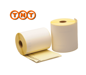 Dymo S0904980 compatible labels TNT, 104mm x 159mm, 220 labels, white, permanent