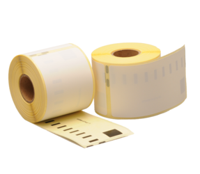 Dymo 99014 Compatible Labels, 101mm x 54mm, 220 labels, White, Permanent, Polypropylene