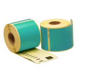 Seiko SLP-SRL compatible labels, 101mm x 54mm, 220 labels, sea-green, permanent