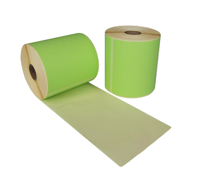 Zebra (800264-605) compatible labels, 102mm x 150mm, 280 labels, 25mm core, green, permanent