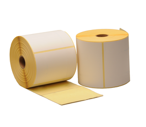 Zebra (800264-305) compatible labels, 102mm x 76mm, 930 labels, 25mm core, white,  permanent