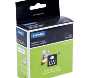 Original Dymo 11355 compatible labels, 19mm x 51mm, 500 labels, white, permanent