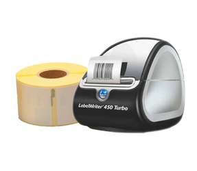 Dymo Starter Package | Dymo LabelWriter 450 Turbo + 3 Rolls 99012