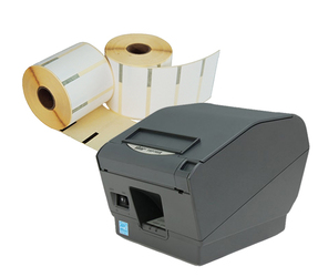 Star Starter Package | Star TSP700II + 12 Rolls Star 70mm x 30mm Labels