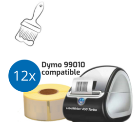 Painters Starter Package | Dymo LabelWriter 450 Turbo + 12 Dymo 99010 Compatible Labels