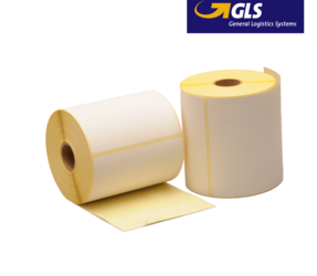 Thermal Shipping Labels GLS, 102mm x 150mm, 300 Labels, Eco Permanent, core 25mm