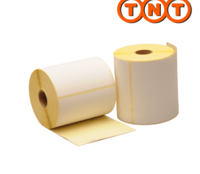 TNT Thermal Shipping Labels, 102mm x 150mm, 300 Labels, Eco Permanent, core 25mm