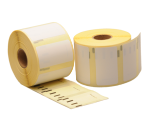 Durable Dymo 11354 compatible labels, 57mm x 32mm, 1.000 labels, white, permanent (Polypropylene)