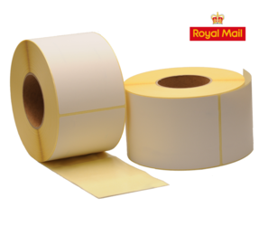 Zebra compatible Royal Mail shipping labels, 102mm x 150mm (4